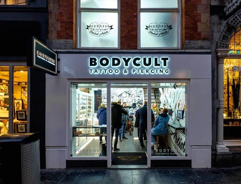Professional Tattoo Shop