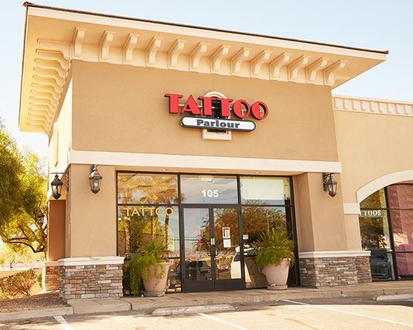 Tattoo shop location